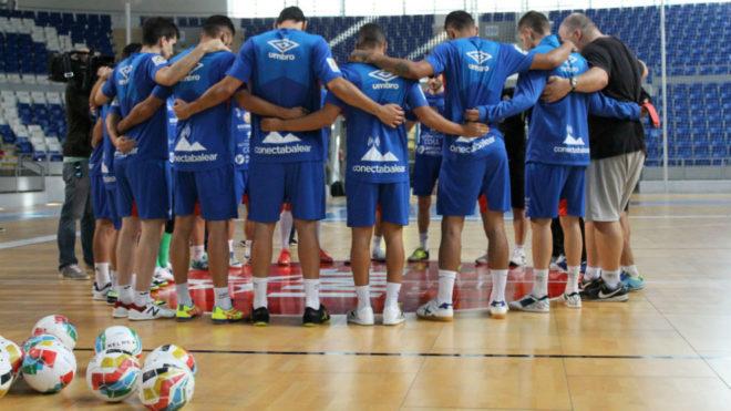 El Palma Futsal defiende el liderato con Sant Llorenç en el recuerdo