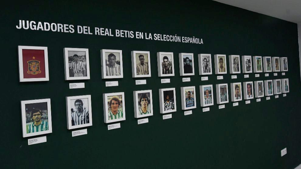 Sala de internacionales en el Benito Villamarín