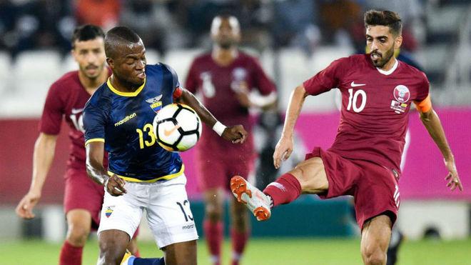 Ecuador patina ante la Qatar de Félix Sánchez