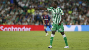 William Carvalho, durante el Betis-Levante de la primera jornada.