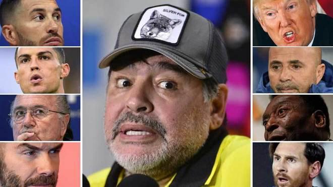 Maradona's controversial opinions