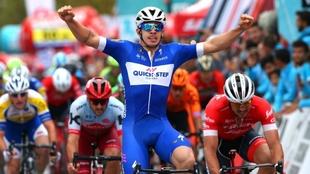 Álvaro Hodeg, ganador de la quinta etapa.