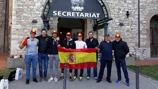 El equipo nacional, compuesto por cuatro destacados pilotos de esta...