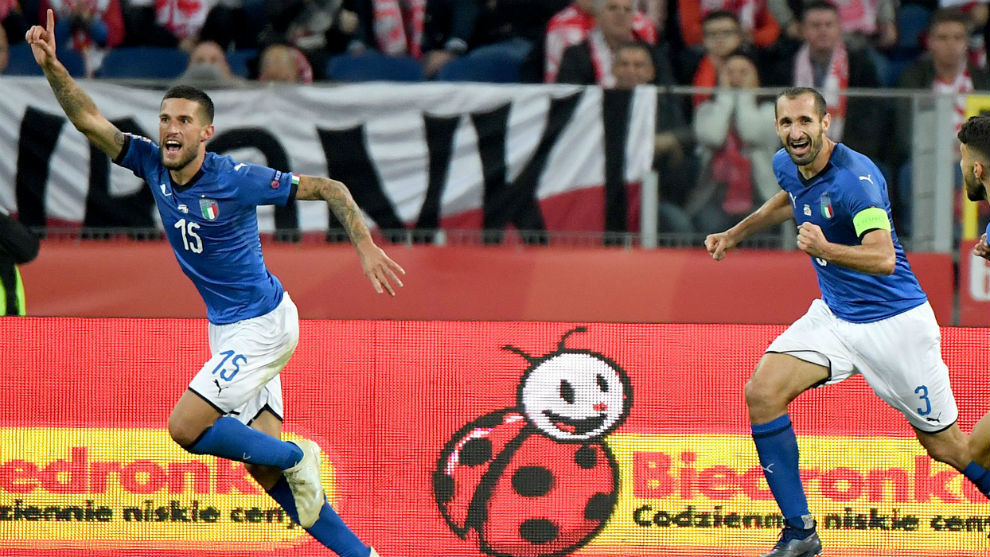 Resultado de imagen para Italia se salva 'in extremis' y manda a Polonia a la Liga B