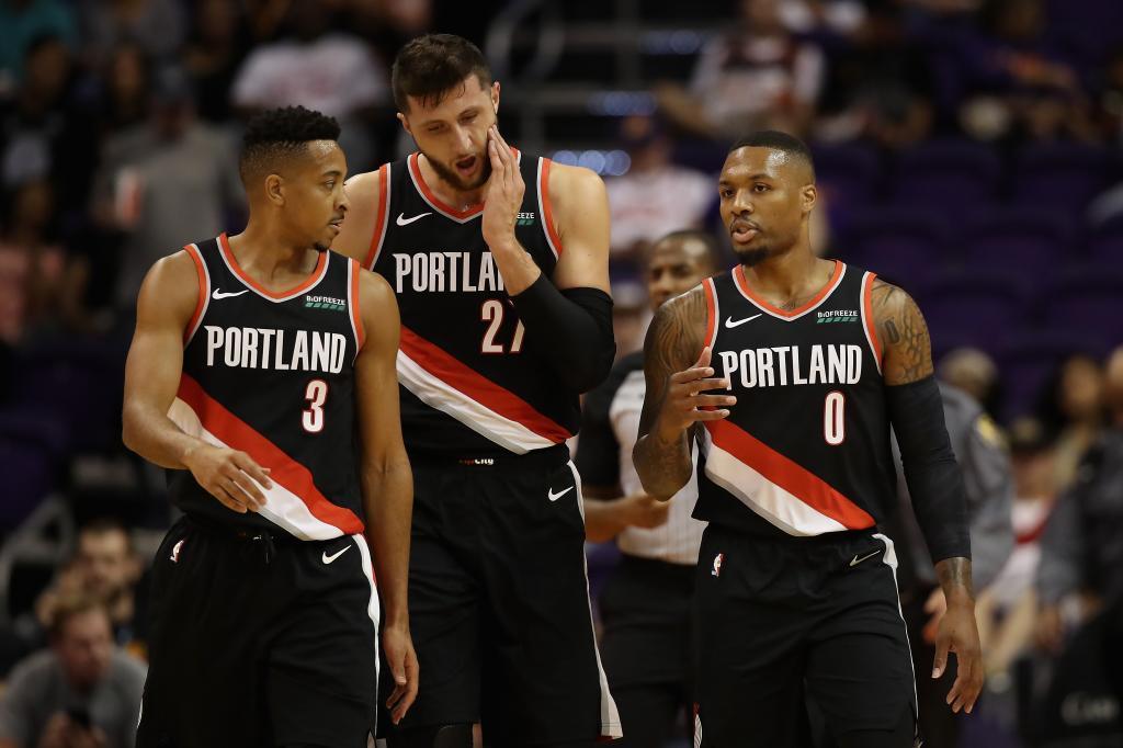 7. Portland Trail Blazers: 135,6 millones de dólares