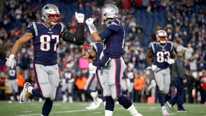 Los Patriots marcaron la diferencia en el partido.