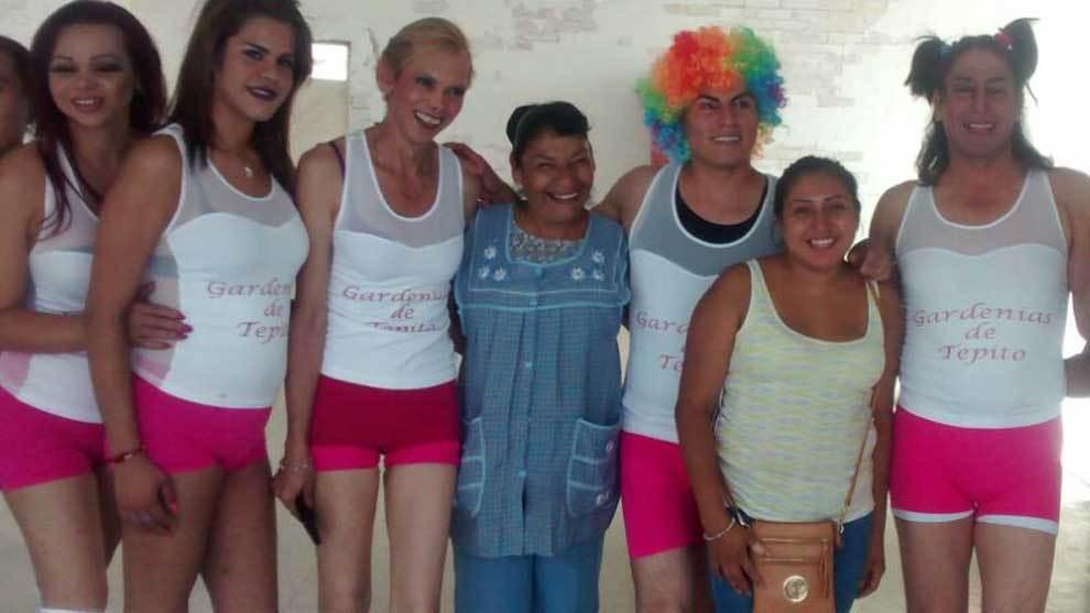 Las Gardenias es un equipo de fútbol integrado por travestis y...
