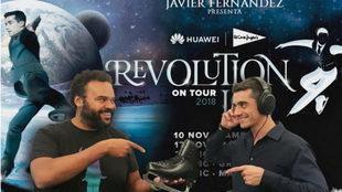 Carlos Jean y Javier Fernández, juntos en 'Revolution on...