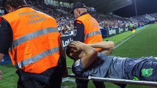 Diego Llorente podría reaparecer sólo dos meses después de romperse...