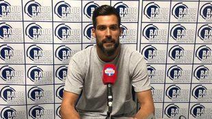 Miguel Ángel Moyá, en los estudios de Radio MARCA Donostia.