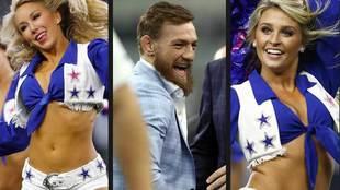 The Dallas Cowboys Cheerleaders eclipse Conor McGregor in the NFL