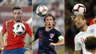 Saúl, Modric y Harry Kane decisivos para España, Croacia e...