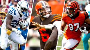 Mack, Mayfield y Uzomah, entre las opciones el waiver de la semana 7.