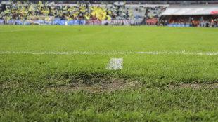 La cancha del Azteca no ha estado bien durante todo el torneo de...