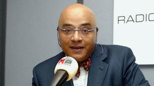 El periodista Andrés Montes en su etapa en Radio MARCA