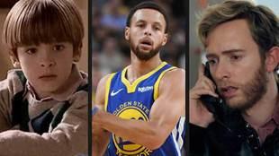 Carlos Alcántara (Cuéntame), Stephen Curry (Golden State Warriors...