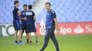 Asier Garitano ya prepara el partido de la Real Sociedad contra el...