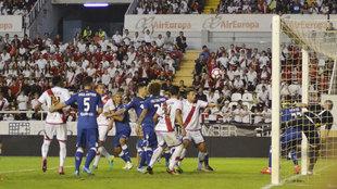 El último precedente entre Rayo Vallecano y Getafe fue en LaLiga 123.