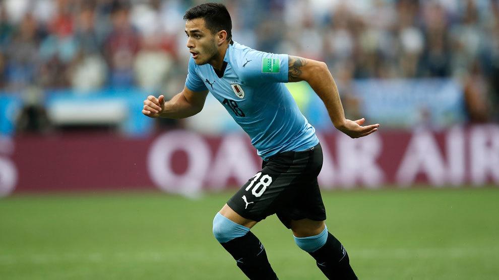 Maxi Gómez se lesiona con Uruguay