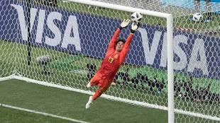El arquero mexicano destacó por segundo Mundial consecutivo