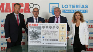 Manuel Gómez, Juan Ignacio Gallardo, Jesús Huerta y Gema Monjas.