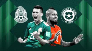 México vs Chile minuto a minuto