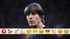 Joachim Löw, en el partido contra Francia