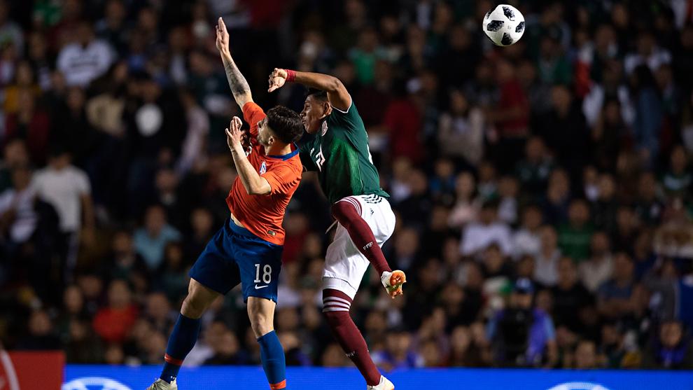 Seleccion Mexicana Mexico Vs Chile Resumen Resultado Y Gol Del