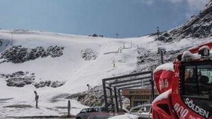 Pese a la poca nieve, la FIS confía en poder celebrar los gigantes...