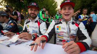 El joven finés (27 años) se marcha de Toyota, el equipo con el que...