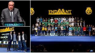 Varios momentos de la presentación de Endavant Esports