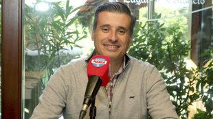 Miguel Ángel Gómez, en una entrevista con Radio MARCA.