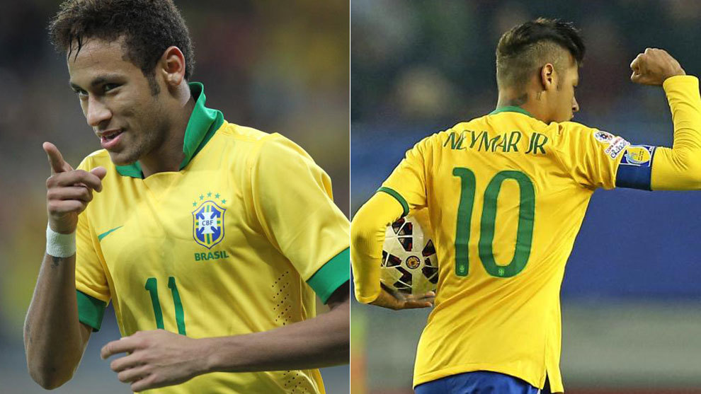 Football  Neymar reveals how he was forced into wearing the Brazil ... 86153fb49