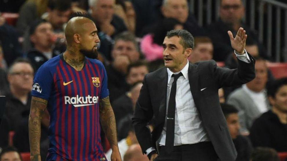 Vidal y Valverde, en Londres.