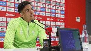 José Antonio Martínez, en la rueda de prensa.