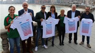 Presentación de las Sanitas MARCA Running Series de Gijón