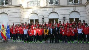 La delegación española que ha competido en Buenos Aires