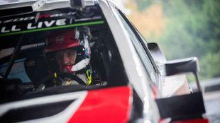 El británico (39 años) ya ha tenido ocasión de probar el Yaris WRC.