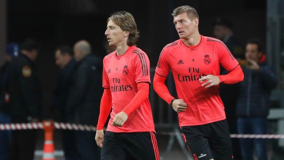 Modric and Kroos