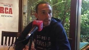 Nacho, durante la entrevista con Radio MARCA.