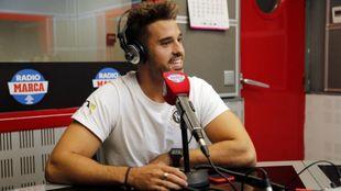 Carlos Garrote visitó los estudios de Radio MARCA
