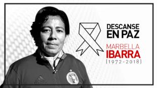 Marbella Ibarra, precursora del fútbol femenil.