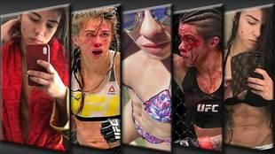 La brasileña Claudia Gadelha, luchadora de MMA y estrella mundial del...