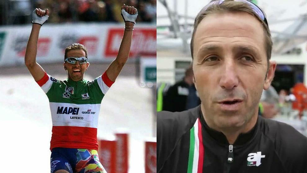 Andrea Tafi ganó la Roubaix 1999 con la maglia de campeón. Quiere...