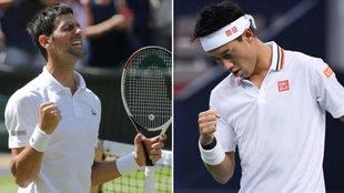 Djokovic y Nishikori
