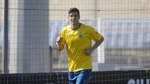 Javi López, en un entrenamiento.