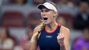 Caroline Wozniacki, en el Abierto de China