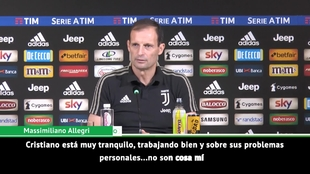 Allegri: Cristiano Ronaldo has brought a greater sense of...