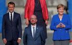Merkel, Macron y Michel se van a un bar de Bruselas tras la cumbre