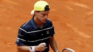 Diego Schwartzman, en el Open de Madrid.